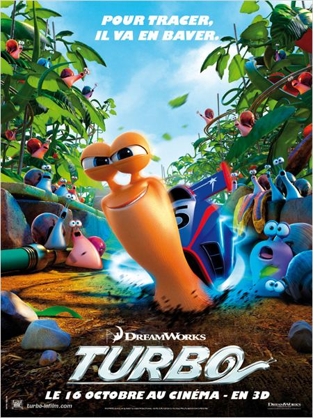 Affiche Turbo de DreamWorks