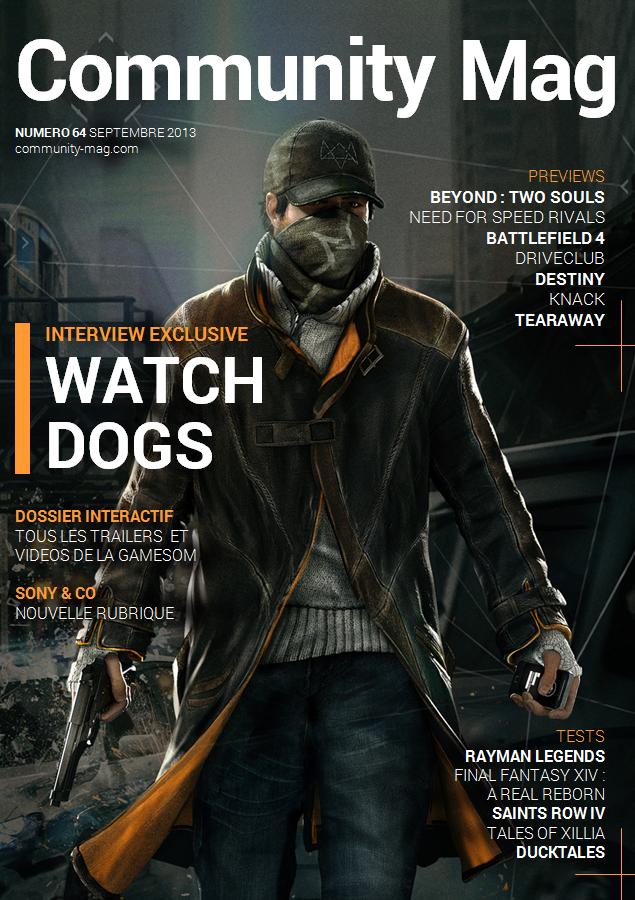Couverture de Community Mag