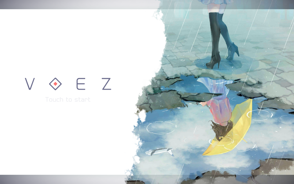 Voez, le jeu musical tactile sur Nintendo Switch