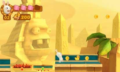 jeux lapins cretins 3DS