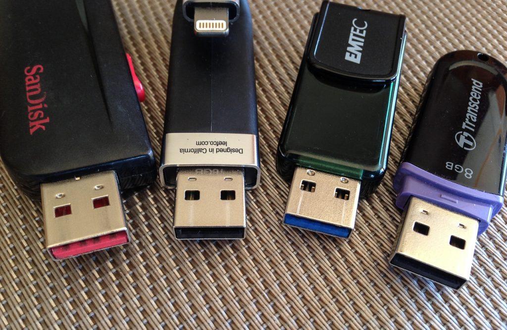 Comparer les clés USB