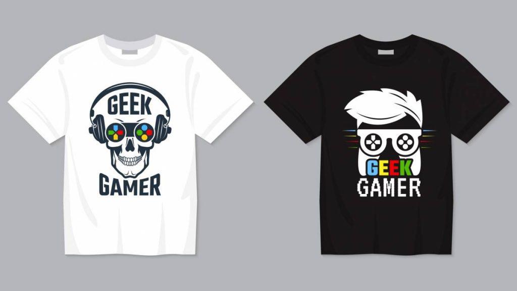 T-shirts de geek